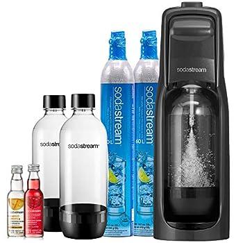 SodaStream Jet Sparkling Water Maker Bundle Black
