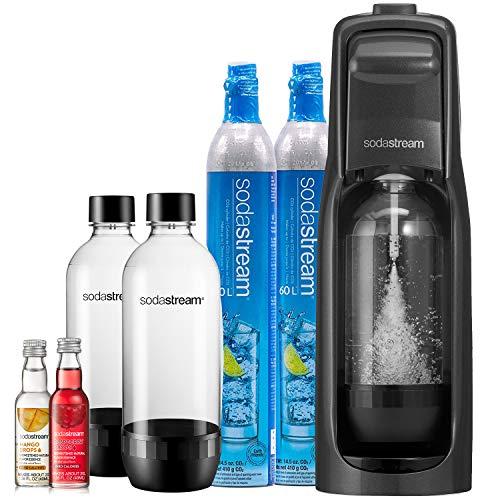SodaStream Jet Sparkling Water Maker, Bundle, Black