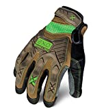 Ironclad EXO Project Impact Gloves, Small, Brown