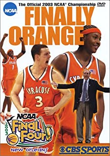 Finally Orange - The Official 2003 NCAA Championship