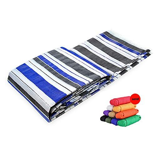 HUAHUA Sonnensegel Haushalt Industrie Sonnenschutz-Tuch, PE Wasserdichte Plane, DIY Can Be Cut, Sonnenschutz Und Regenschutz Tarp, Universell For Alle Jahreszeiten, 20 Größen ( Size : 5x5m )