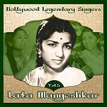 Bollywood Legendary Singers, Lata Mangeshkar, Vol. 5