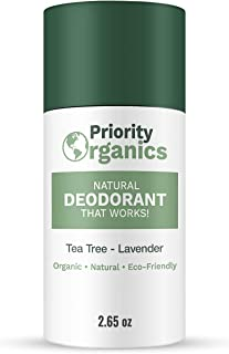 Sponsored Ad - Priority Organics - CLEARANCE - 24 Hour Fresh Scent - Aluminum Free Deodorant - Natural Deodorant - Organic...