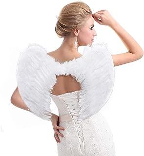 Angel Wings, Angel Costume Wings, Feather Angel Wings for Kids Women Girls Children, Adult Angel Wings