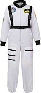 Grebrafan Astronaut Costume for Kids Boys Space Suit Childrens Cosplay Outfit
