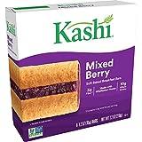 Kashi Soft Baked Breakfast Bars, Fiber Bars, Kids Snacks, Mixed Berry, 7.2oz Box (6 Bars)