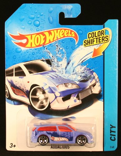 AUDACIOUS COLOR SHIFTERS 2014 Hot Wheels City Series 1:64 Scale Vehicle #2/48