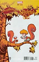 Unbeatable Squirrel Girl #1 Cover B Skottie Young Variant Baby Cover