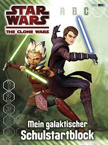 Star Wars - The Clone Wars: Mein galaktischer Schulstartblock