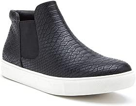 Best high top slip on sneakers black Reviews