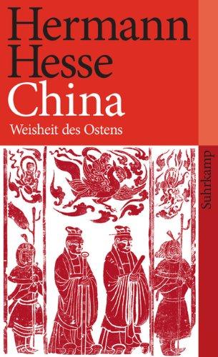 China: Weisheit des Ostens (suhrkamp taschenbuch)