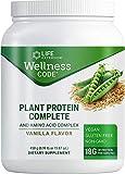Life Extension Plant Protein Complete and Amino Acid Complex, Vanilla Flavor, 450 Gram