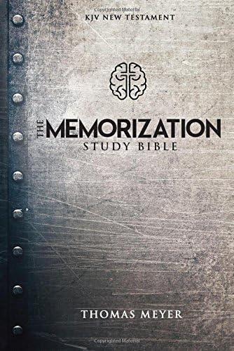 Memorization Study Bible The product image