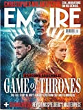 EMPIRE MAGAZINE, DRAGONS ASSEMBLE ! GAME OF THRONES APRIL, 2019 ISSUE, 360 ( PLEASE NOTE :: ALL THESE MAGAZINES ARE PET & SMOKE FREE MAGAZINES. NO ADDRESS LABEL. FRESH FROM NEWSSTAND ) ( SINGLE ISSUE MAGAZINE )