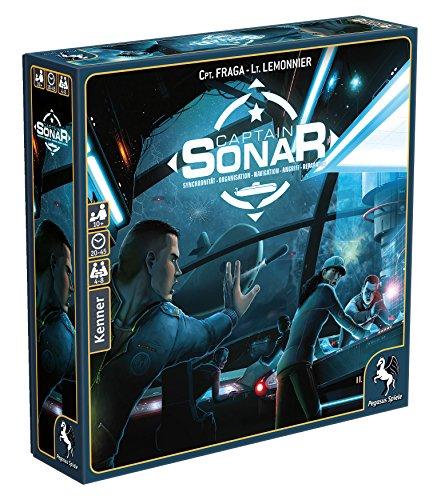 Pegasus Spiele 57010G - Captain Sonar