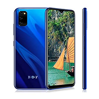 XGODY M30s Mobile Phone, 4G Smartphone Unlocked,Dual Sim Free Android 9.0 Phones,6.26 inch qHD+ Waterdrop Screen Cell Phone,3GB RAM + 32GB ROM,Face Recognition