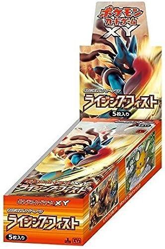 100% precio garantizado Pokemon Card Game XY Booster Pack Pack Pack Box Rising Fist Japanese Version  Venta al por mayor barato y de alta calidad.