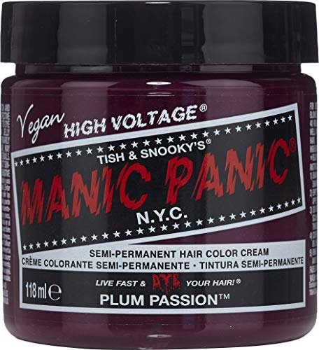 Manic Panic Classic Coloration Semi-Permanente Couleut Intense 118ml (Plum Passion -Passionément Prune)