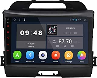 9 inch Android 9.0 Car Radio Player No DVD GPS Navigation for Kia Sportage Series 3 2010 2011 2012 2013 2014 2015 2016 YHZP901A