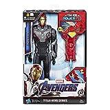Avengers- Titan Hero FX Figura Iron Man, Multicolor, Talla Única...