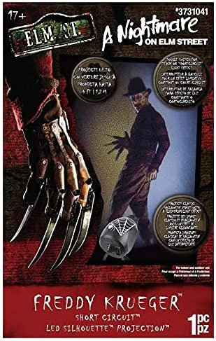 Gemmy A Nightmare ON ELM Street Lightsh Freddy Super sale Krueger Halloween Price reduction