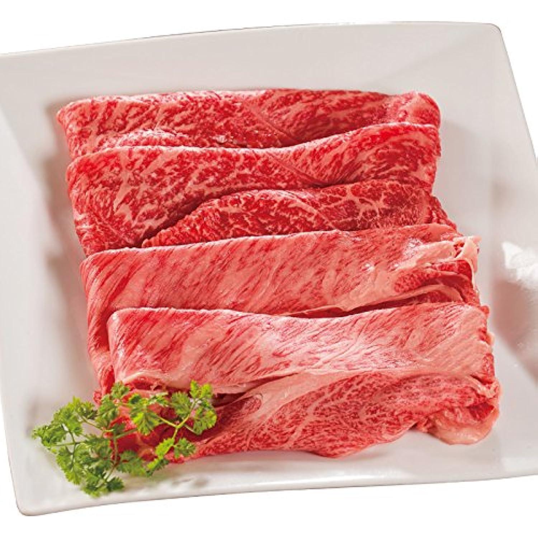 常陸牛A5すき焼きセット 霜降り肩ロース&赤身もも 肉のイイジマ