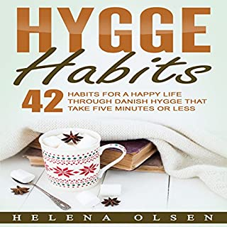 Hygge Habits audiobook cover art