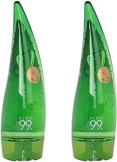 Holika Holika 99% Aloe Soothing Gel / 250ml / 2 Pack / US Seller
