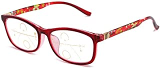 High-definition Reading Glasses, Portable Folding Distance And Near Reading Glasses, Women's Smart Zoom Anti-blue Light Lo...