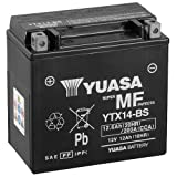 Batteria YUASA ytx14BS, 12V/12AH (dimensioni: 150X 87X 145) per Kymco Xciting 500I R anno 2011
