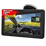 Aonerex GPS Voiture Auto Navigation 7 Pouces Écran Tactile Capacitif...