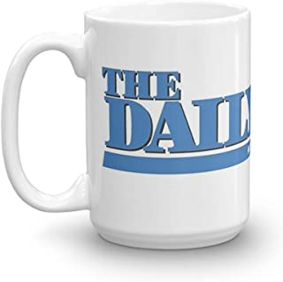 The Daily Show with Jon Stewart. 15 Oz Fine Ceramic Mug With Flawless Glaze Finish. 15 Oz Ceramic Glossy Mugs Gift For Coffee Lover