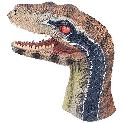 Jopwkuin Marioneta De Mano De Animal, Inodoro, Realista, No Tóxico, Juguete De Dinosaurio para Fiestas De Cumpleaños para Niños para Familias