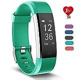 【24 ore monitoraggio fitness】Monitora le tue attività quotidiane come la distanza percorsa, le calorie bruciate, la frequenza cardiaca, il sonno. Connettiti con il GPS del telefono, e puoi visualizzare il tuo percorso in tempo reale con l'app VeryFit...