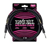 Ernie Ball 6 'Cable de altavoz recto/recto