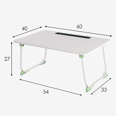 YZjk Mesa para Laptop Mesa Plegable para computadora Escritorio ...