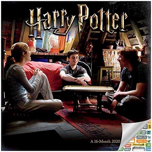 Harry Potter Calendar 2020 Bundle - Deluxe 2020 Harry Potter Mini Calendar with Over 100 Calendar Stickers (Harry Potter Gifts, Office Supplies)