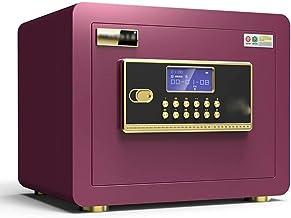 LLRYN Safes Smart Anti-Theft Mini Password Office Fingerprint Money Boxes for Adults for Home (Size : 35 * 25 * 25cm) (Col...