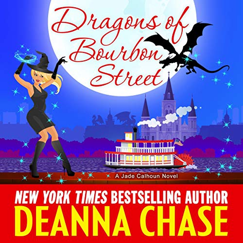 Dragons of Bourbon Street audiobook cover art