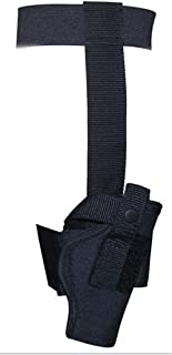 Size 12 Ankle Holster Concealed Carry Pistol Handgun. 380 Back Up Black