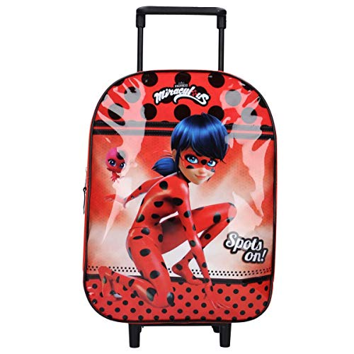3830 OSAB-Fashion Kinder Rucksack Kinderucksack Trolley Tasche Miraculous Ladybug (3830-Miraculous-Ladybug)