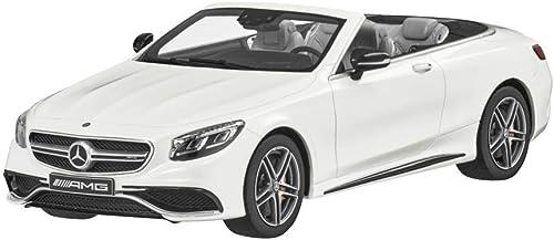 Mercedes Benz A 222 - S 63 AMG Cabrio WeißModellauto Ma ab 1 18 Resine - ohne beweglichen Teile