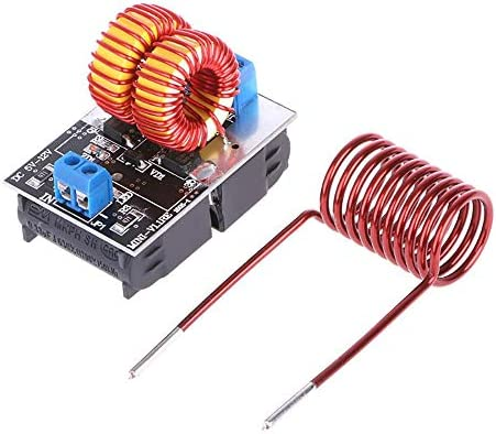 5 12V 120W Mini ZVS Induction Heating Board Flyback Driver Heater Ignition Coil product image