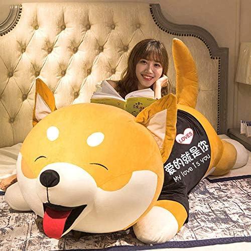 Shiba Inu Doll Pluche Toy Grote Doll Leuk Doll Pillow Slapen Bed Super Soft vrouwelijke verjaardagscadeau 200cm,120cm