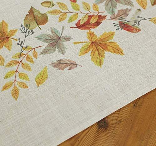 FRANK FLECHTWAREN Tischläufer Herbstblätter