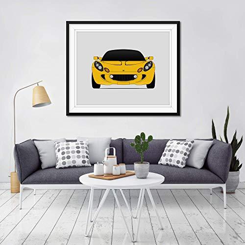 Lotus Exige Elise Inspired Poster Print Wall Art Decor Handmade S 240 260 265E GT3