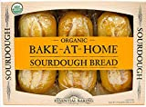 Bake-At-Home Organic Sourdough 3 Loaves 54.6 Oz/1.55 Kg.