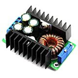 ICQUANZX DC DC 9A 300w Step Down Buck Converter Constant Current Converter 24V to 12V Adjustable Regulator Module 7V-32V to 0.8V-28V Power Supply Module