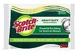 Scotch-Brite Heavy Duty Scrub Sponges, 24 Scrub Sponges, Stands Up to Stuck-on Grime