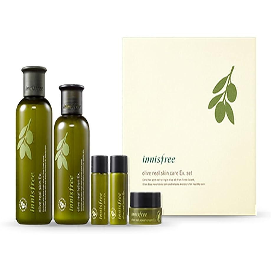 資本主義明るい押すイニスフリーオリーブリアルスペシャルケアセット(5アイテム)Innisfree Olive Real Special Care Ex. Set ( 5 Item ) [海外直送品][並行輸入品]